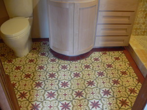 Spanish Concrete tile